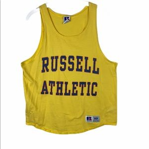 Retro Russell Athletic muscle shirt M